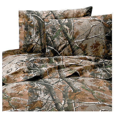 Cabin Bedding | Realtree All Purpose Sheets | The Cabin Shack