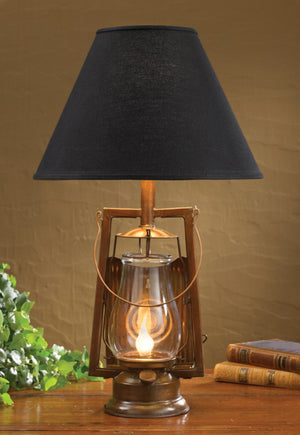 Copper Lantern Lamp Base & Night Light | The Cabin Shack