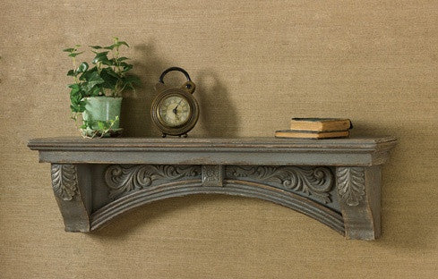 Cabin Decor - Vintage Mantle Shelf - The Cabin Shack