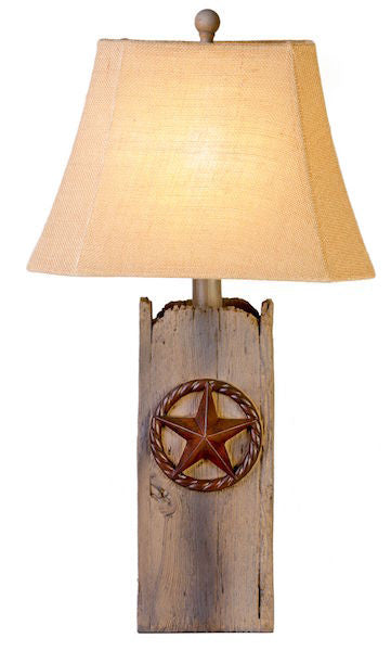 Western Lantern Table Lamp for Rustic Decor | The Cabin Shack