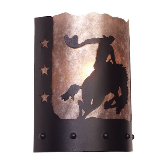 Rustic Wall Sconce | 8 Second Ride | The Cabin Shack