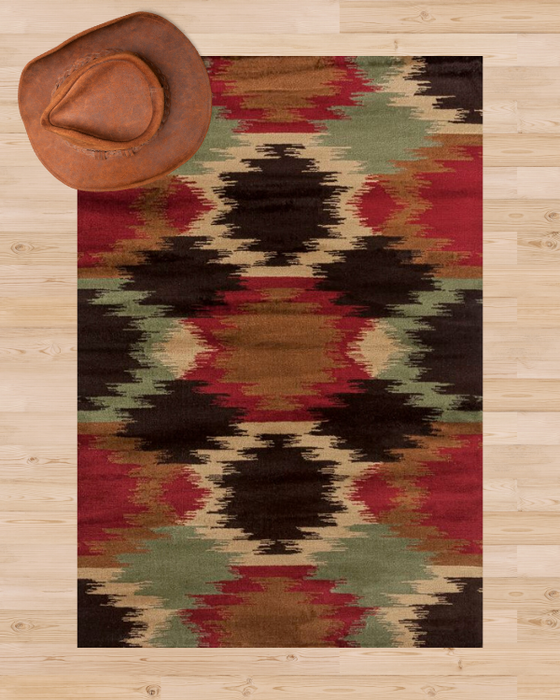 Santa Rosa Rug Overview | The Cabin Shack