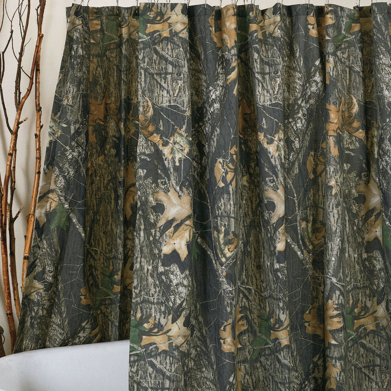 Mossy Oak Camo Shower Curtain | The Cabin Shack