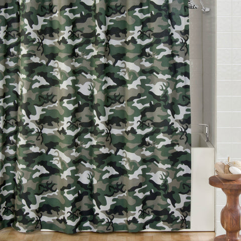 Cabin Decor | Browning Camo Pink Rod Pocket Curtains – The Cabin Shack