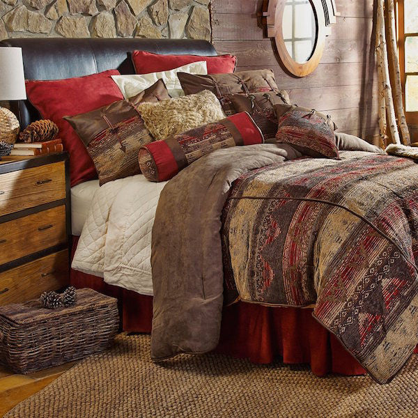 Sierra Mountains Rustic Bedding Collection | The Cabin Shack