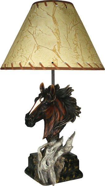 Horse Table Lamp | The Cabin Shack