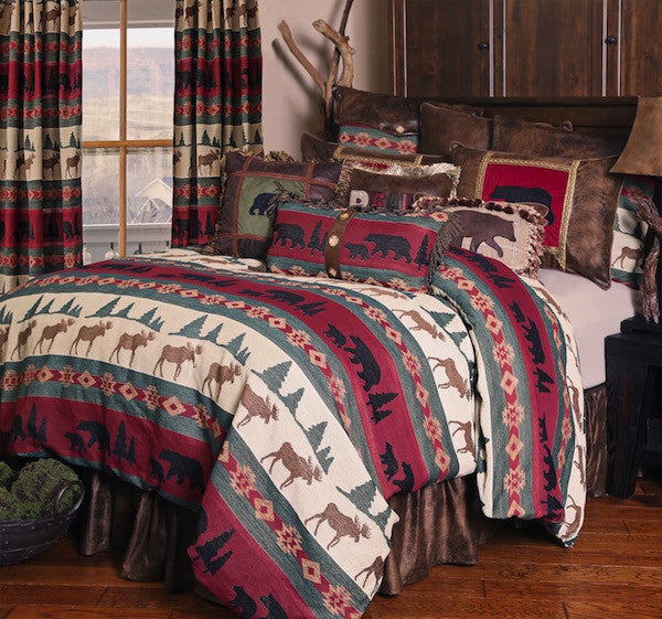 Cabin Bedding | Takoma Wildlife | The Cabin Shack