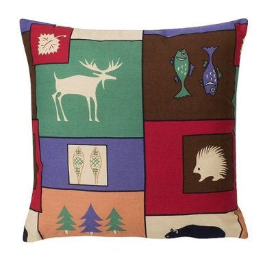 The Woods Throw Pillow | Cabin Bedding | The Cabin Shack