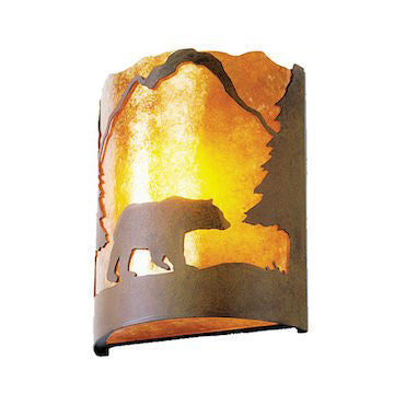 Rustic Lighting | Timber Ridge Bear Wall Sconce | The Cabin Shack