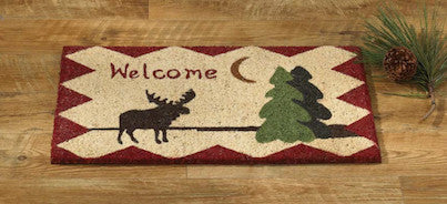 Moose Welcome Doormat | Moose Decor | The Cabin Shack