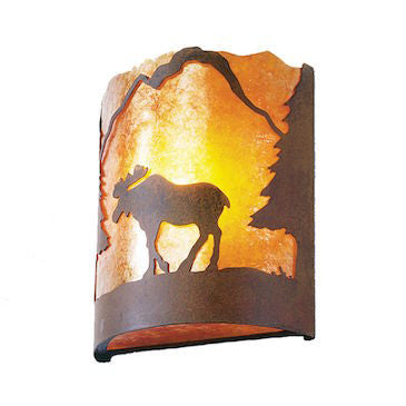 Rustic Lighting | Timber Ridge Moose Sconce | The Cabin Shack