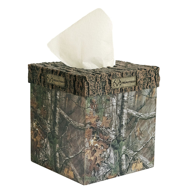 Cabin Decor - Realtree Xtra Tissue Box Cover for Hunting Cabin