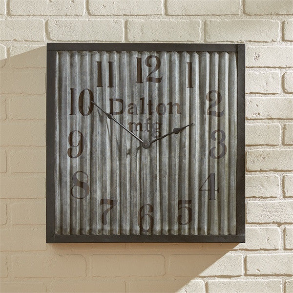 Vintage Clock with Dalton Manufacturing | The Cabin Shack