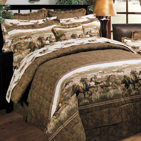 Wild Horses Bedding Collection | The Cabin Shack