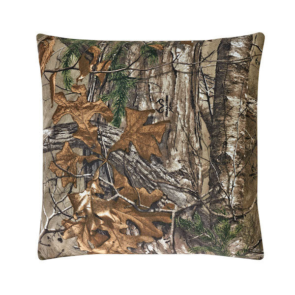 Realtree Xtra Camo Throw Pillow | The Cabin Shack