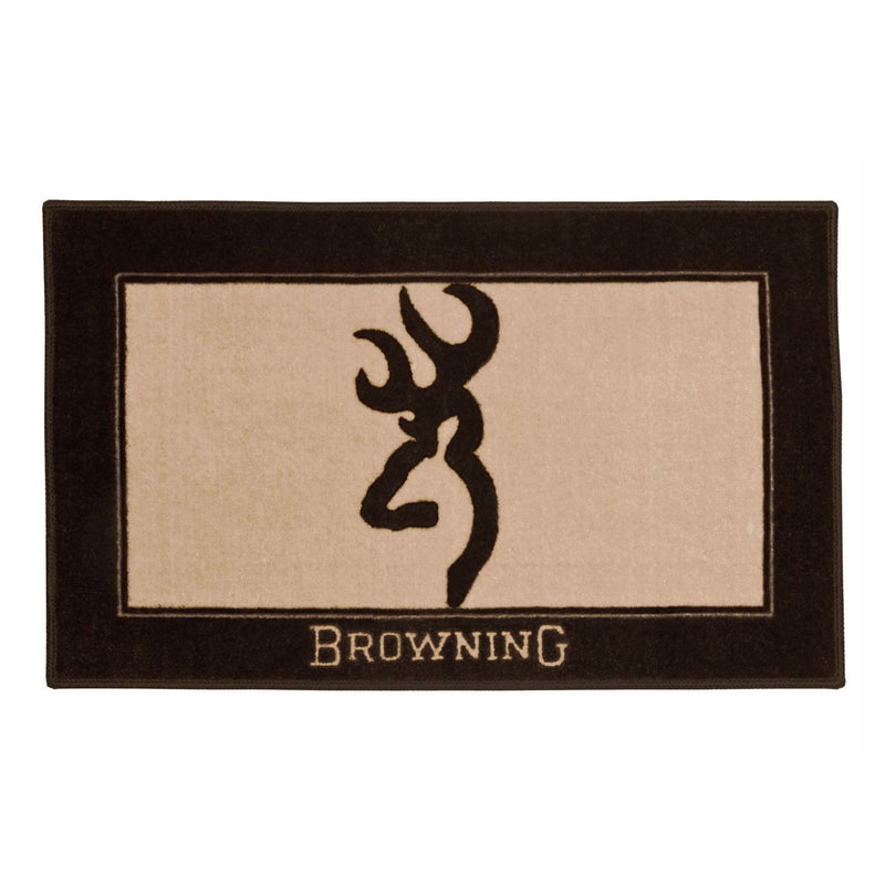 Cabin Decor - Browning Buckmark Bath Mat - The Cabin Shack