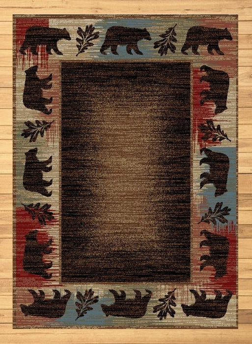 Bear Lake Trailhead Rug | The Cabin Shack