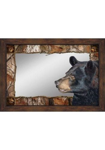 Bruin Bear Mirror | The Cabin Shack