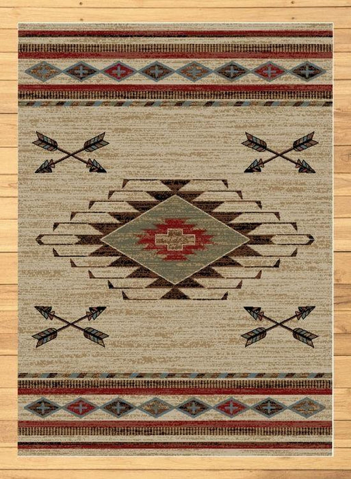 Cross Arrows Rug | The Cabin Shack