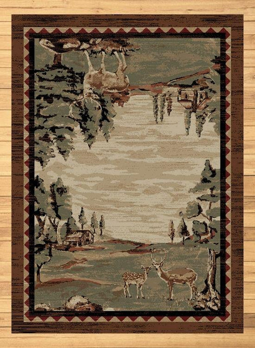 Farm Buck Rug | The Cabin Shack