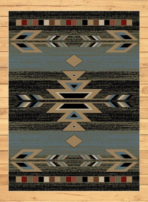 Glendale Sky Rug | The Cabin Shack