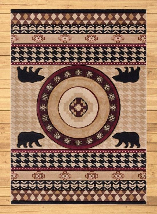 Highland Bear Rug Overview | The Cabin Shack