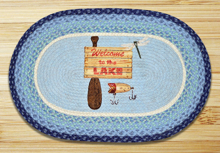 Cabin Rugs | Welcome To The Lake Rug | The Cabin Shack