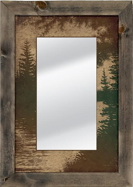 Lakeside Mirror | The Cabin Shack