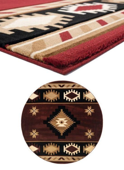 Mahogany Eye Rug Collection | The Cabin Shack