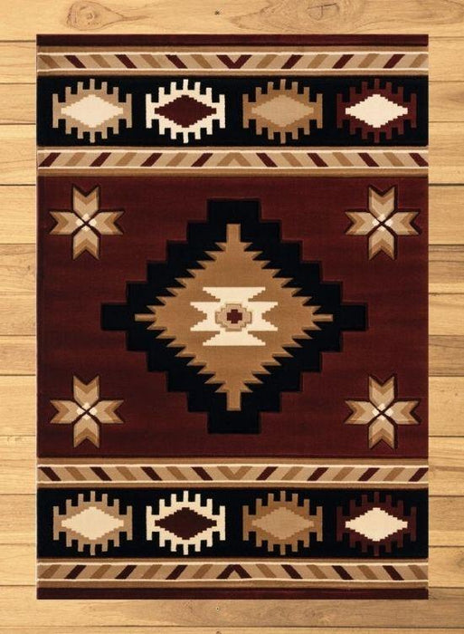 Mahogany Eye Rug Overview | The Cabin Shack
