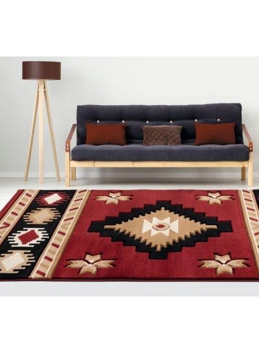 Mahogany Eye Rug | The Cabin Shack