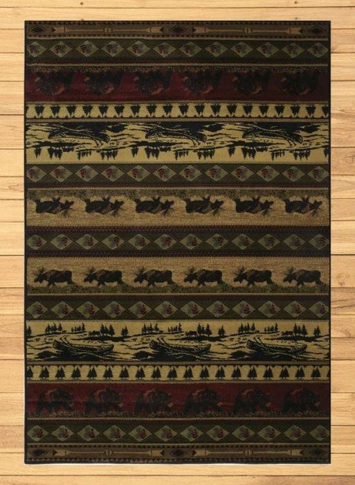 Majestic Wild Rug | The Cabin Shack