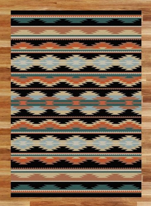 Medicine Bow Dark Rug | The Cabin Shack