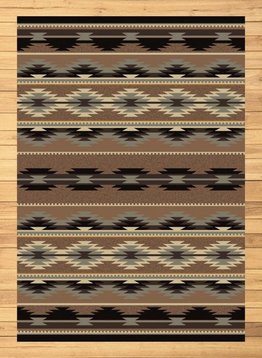 Medicine Bow Light Rug | The Cabin Shack