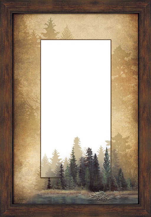 Misty Nature Mirror | The Cabin Shack