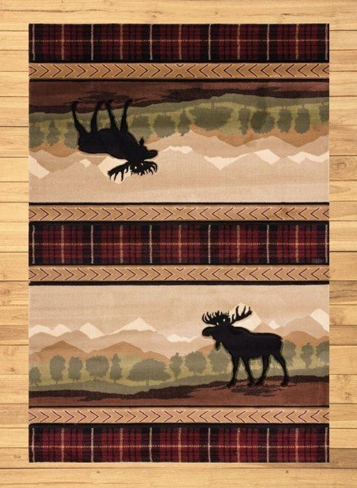 Moose Mountain Rug Overview | The Cabin Shack