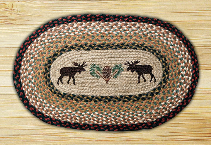 Cabin Rugs | Moose Mates Jute Rug | The Cabin Shack