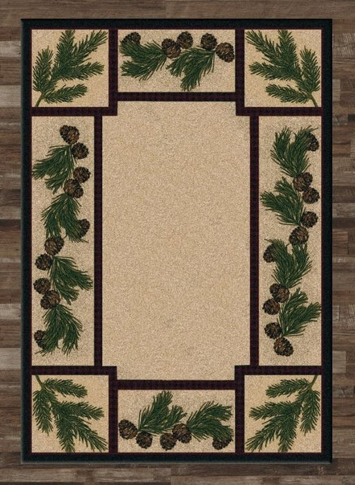 Moraine Pine Rug | The Cabin Shack