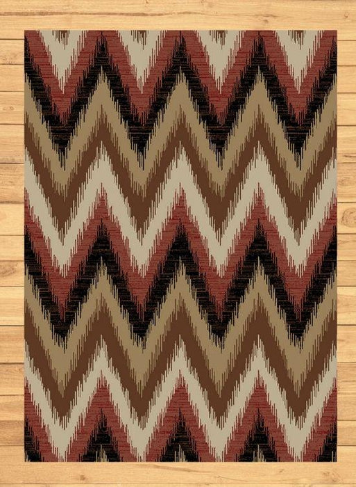 Patagonia Flame Rug | The Cabin Shack
