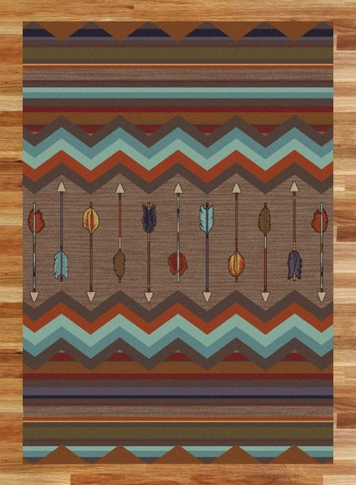 Peak Arrows Rug | The Cabin Shack