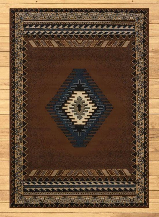 Phoenix Brown Rug Overview | The Cabin Shack