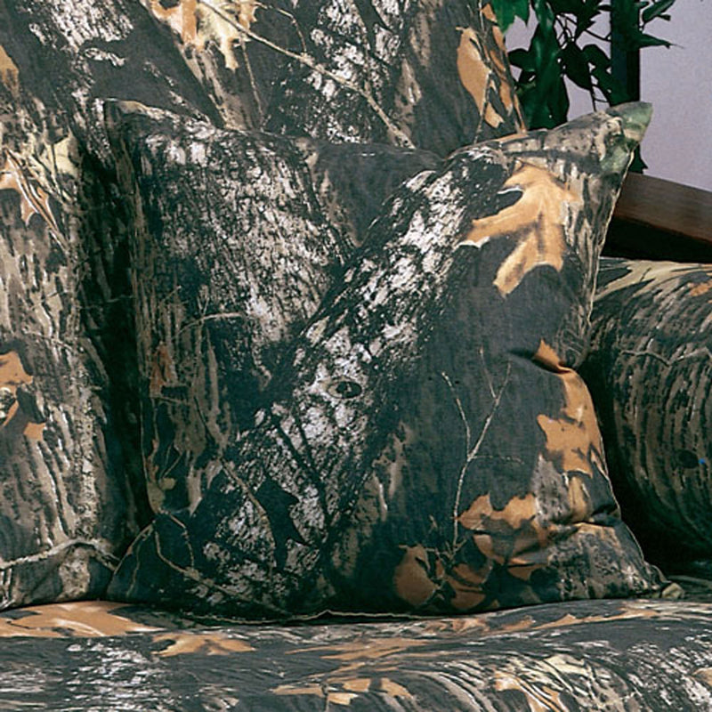 Cabin Decor - Mossy Oak Camo Throw Pillow - The Cabin Shack