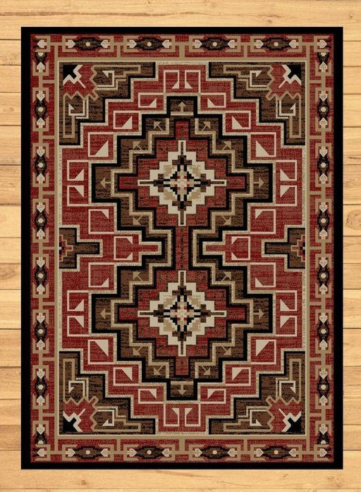 Pima Ruby Rug | The Cabin Shack