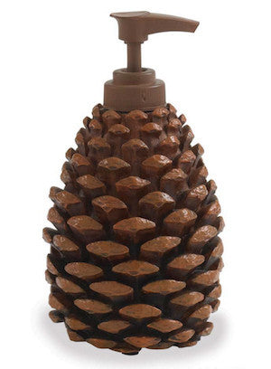 Pinecone Soap Dispenser