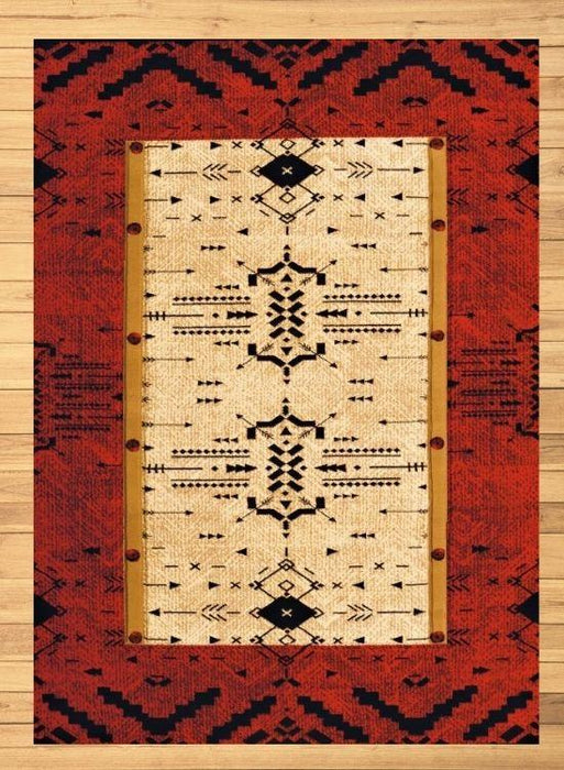Red Feather Rug Overview | The Cabin Shack