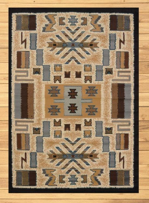 San Luis Tan Rug Overview | The Cabin Shack