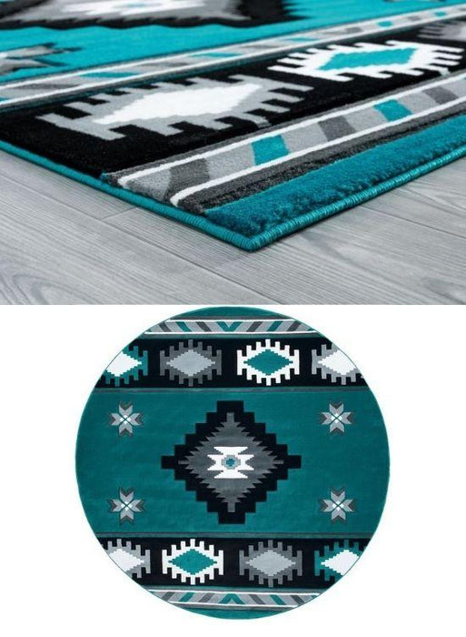 Sapphire Eye Rug Collection | The Cabin Shack