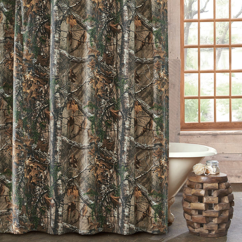 Realtree Xtra Camo Shower Curtain | The Cabin Shack