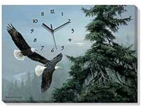 Soaring Eagle Clock | The Cabin Shack