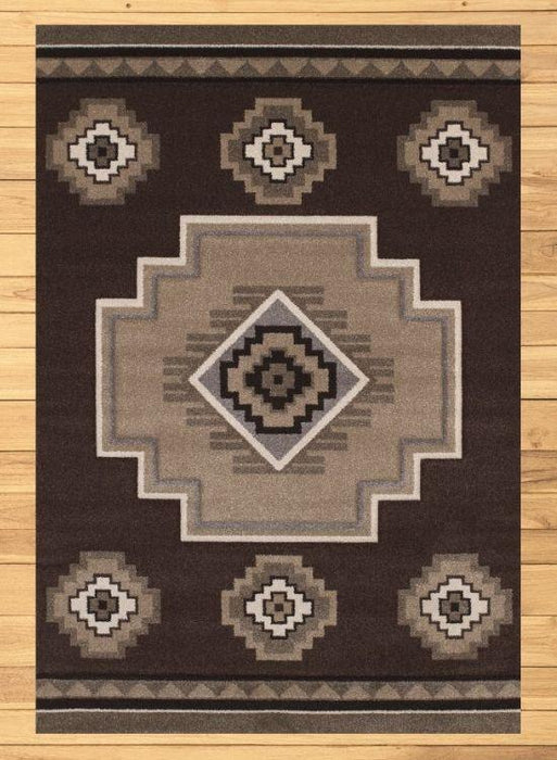 Tempe Cocoa Rug Overview | The Cabin Shack